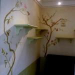 peinture décorative chez un particulier