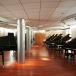 Showroom Pianos Yamaha