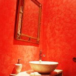 Toilettes stucco