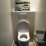 Toilettes optimisation de l'espace