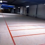 Yamaha_Marquage au sol entrepôt