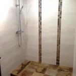 Salle de bain chez particulier